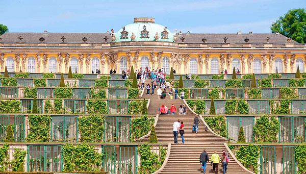 Berlín:  Excursión opcional a Postdam (palacio Sansoucci).