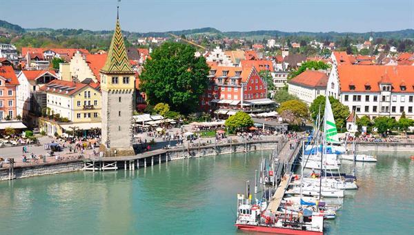 Lindau: Vista de esta ciudad bávara.