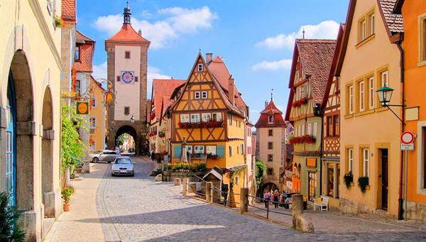 Rotemburgo: La ciudad más bella de Alemania.