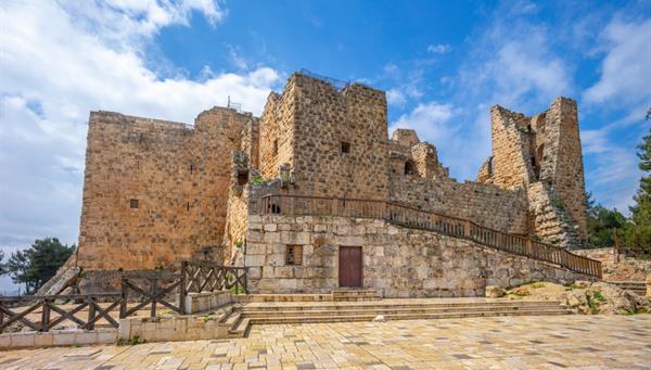 Castillo de Ajlun: Uno de los máximos exponentes de la arquitectura militar árabe.