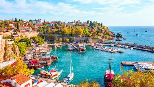 La belleza de Kaleici de Antalya.