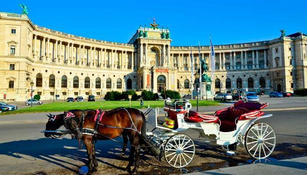 Viena: Palacio Hofburg.