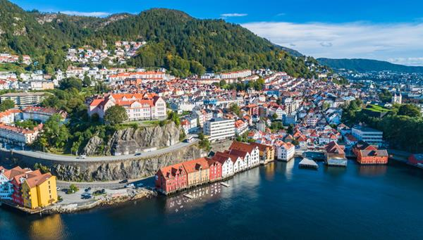 Casco antiguo de Bergen