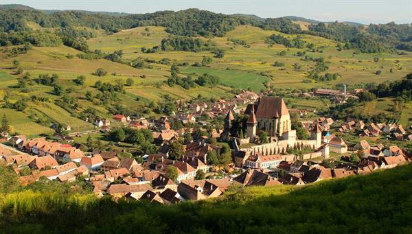 Biertan: Su iglesia fortificada