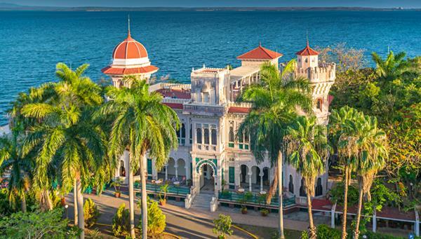 Palacio de Valle en Cienfuegos, Cuba