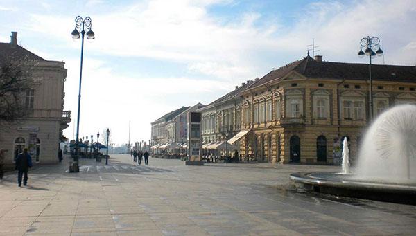 Slavonsky: La sexta ciudad más grande de Croacia.