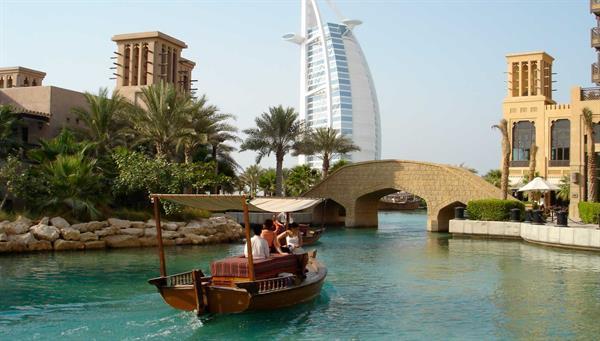 Dubai: Paseo en Abra (taxi acuático).