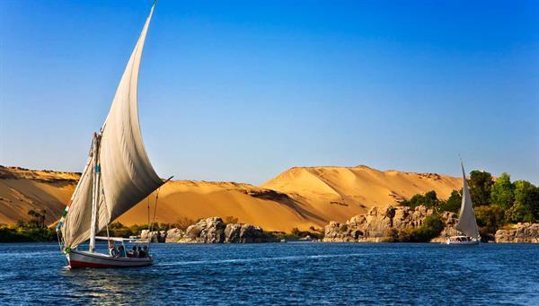 Aswan: Paseo en faluca.