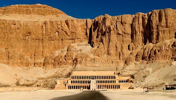 Luxor: Templo reina Hatsepsut.