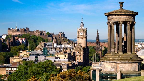 Edimburgo: Corazón valiente de Escocia.