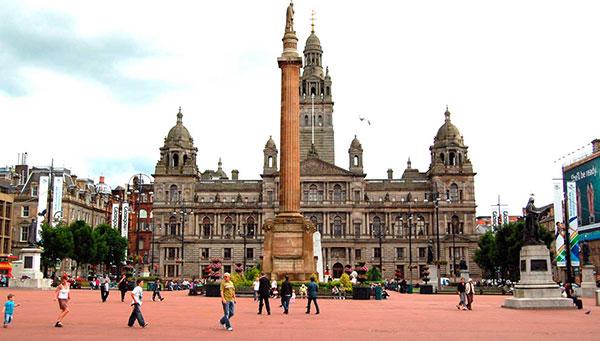 Glasgow: George Square.
