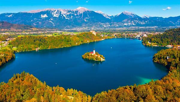 Bled: La reina en medio del lago alpino.