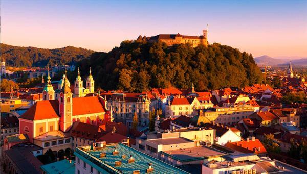 Ljubjiana: Luces eslovenas.