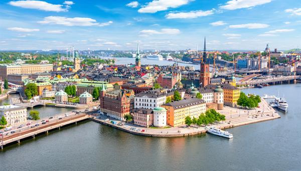 Vista panorámica de Estocolmo