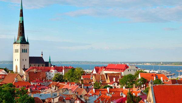 Tallin: Ciudad medieval de cuento de hadas.