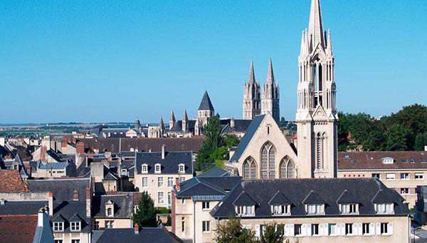 Caen: La ciudad de Guillermo el Conquistador.