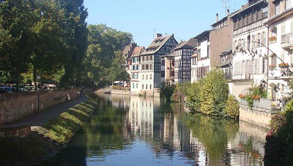Estrasburgo: Capital de la Alsacia.