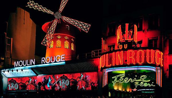 París: Disfrute opcionalmente del espectáculo Moulin Rouge.