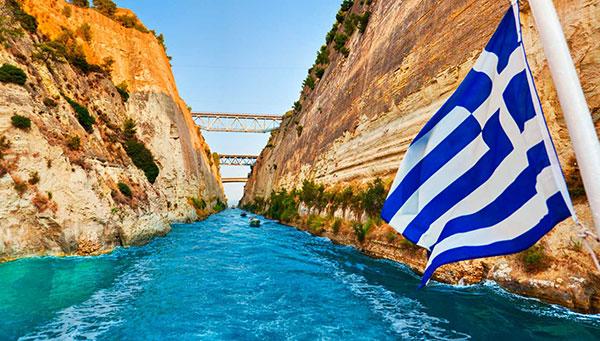 Corinto: El canal que cortó un país en dos.