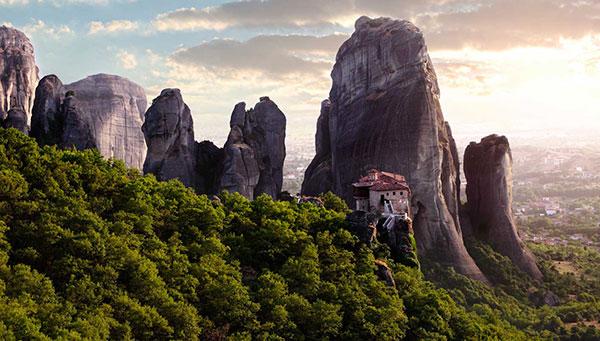 Meteoras: Tocando el cielo con las manos. Visita al monasterio.