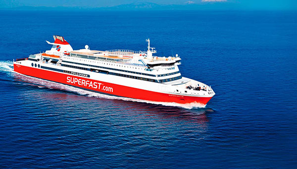 Nos desplazaremos en barco de Ancona a Igumenitsa.