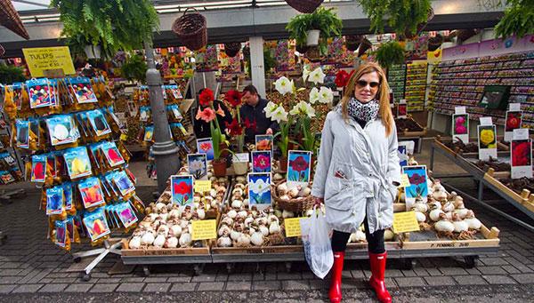 Amsterdam: Mercado de las flores.