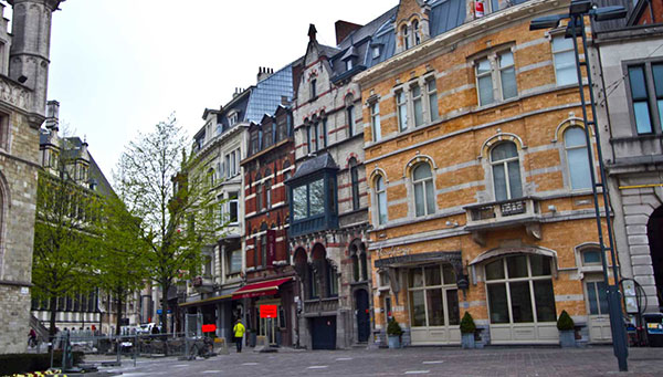 Middelburg: Centro histórico.