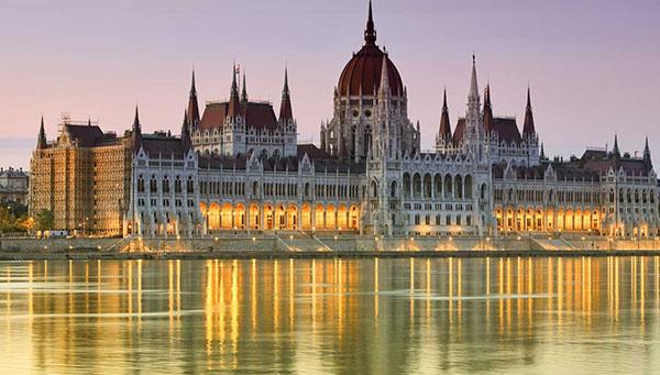 Budapest: El parlamento.