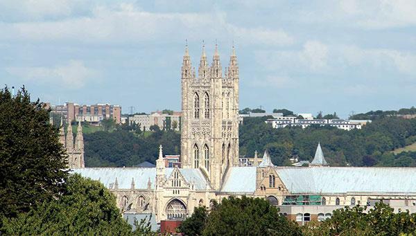 Canterbury: Su tesoro….la catedral.