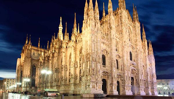 Milán: El Duomo.
