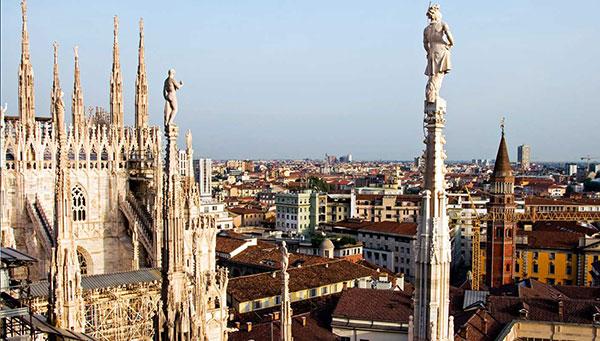 Milán: Ciudad principal del refinado norte italiano.