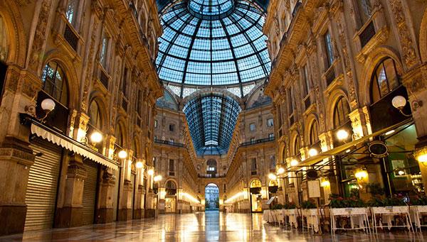 Milán: Las galerías milanesas.