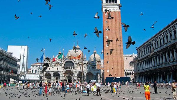 Venecia: Plaza San Marcos.