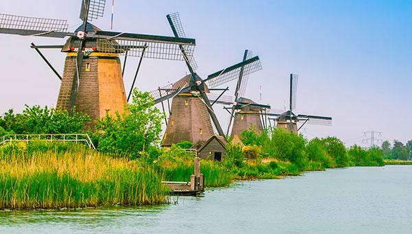 Kinderdijk:Donde podrás tomar las mejores fotos de los paises bajos