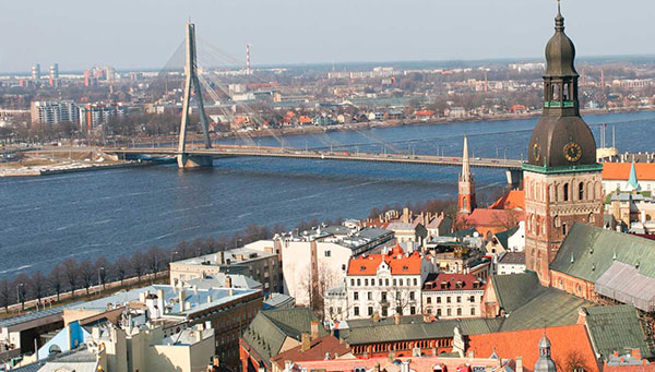 Riga: Su arquitectura, ejemplo de su historia.