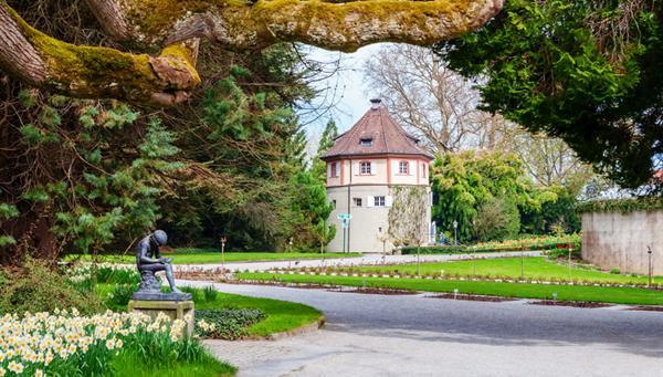 Mainau: La isla de las flores en Alemania.