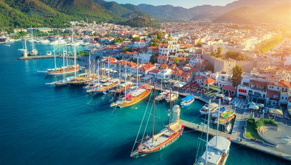 Marmaris: Bellisímo enclave turístico costero.