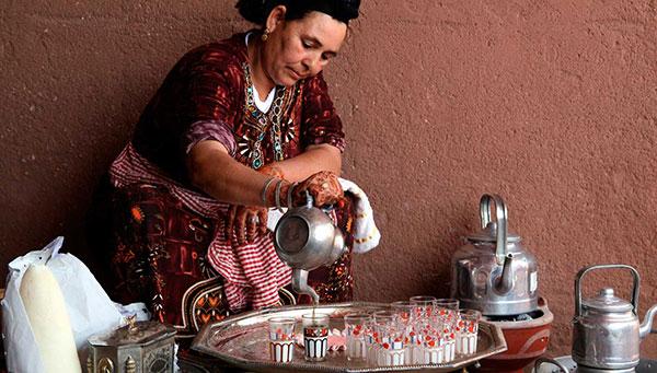 Marrakech: Ofrecemos la opción de una cena con espectáculo.