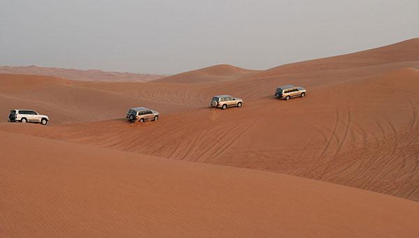 Erfoud: Ofrecemos la posibilidad de un circuito en 4x4 por el desierto y cena.