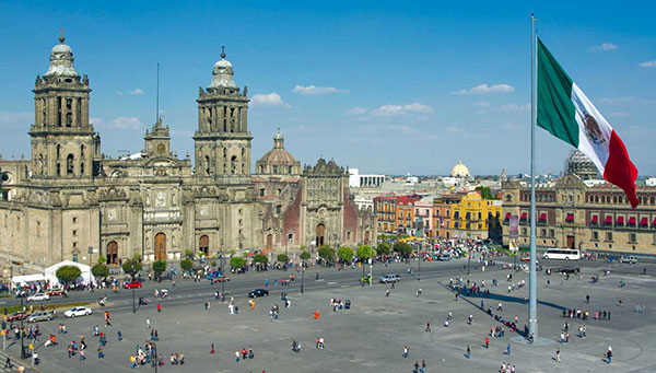 México D.F: Incluimos una visita panorámica de la ciudad.
