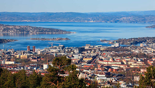 Oslo: Vista del puerto.
