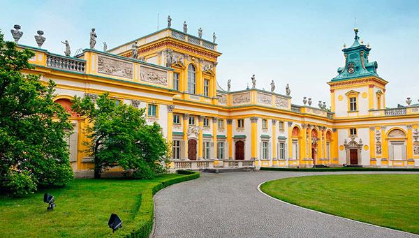 Varsovia: Vista del Castillo Real.