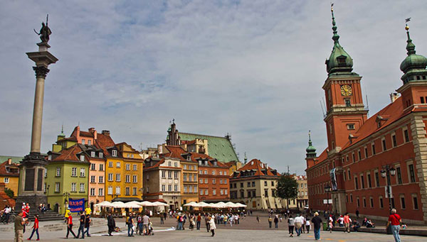 Varsovia: De las cenizas renacida.
