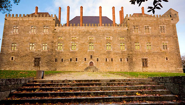 Guimaraes: Palacio de los Duques.
