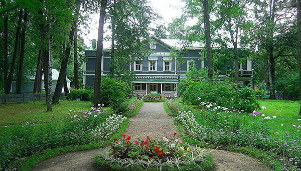 Klin: Visita a la casa de Tchaickowsky.