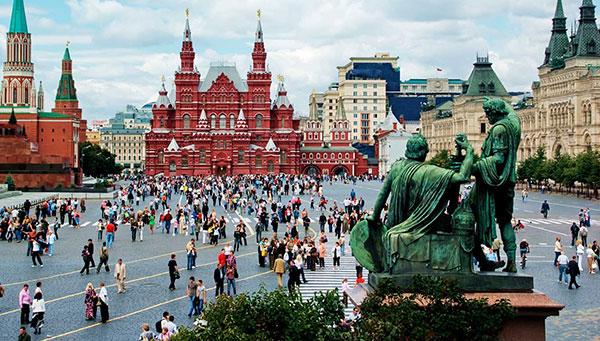 Moscú: Incluimos la entrada al Kremlin.