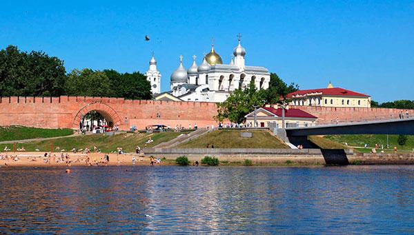 Novgorod: La ciudad nueva.