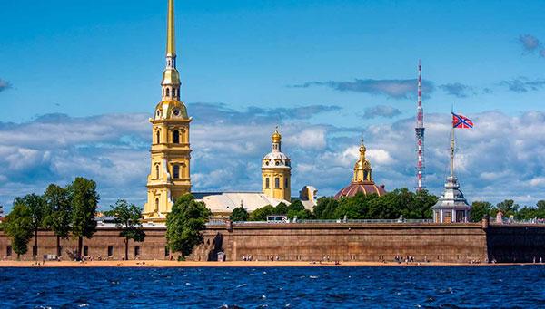 San Petersburgo: Visita a la fortaleza de Pedro y Pablo.