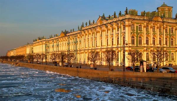 San Petersburgo: El museo del Hermitage.