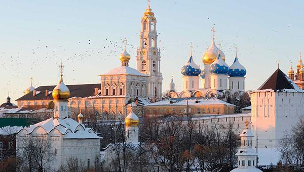 Sergei Posad: Centro espiriutal de la iglesia ortodoxa rusa. Incluida la visita a su Monasterio.